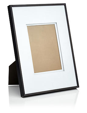 Essential Metal 5X7 Frame, BLACK, catlanding