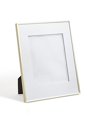 Essential Metal 8X10 Photo Frame, GOLD, catlanding