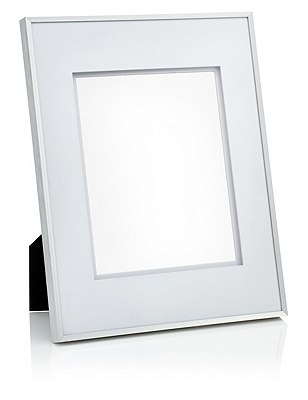 Essential Metal 8X10 Photo Frame, SILVER, catlanding