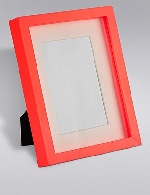 Essential 4X6 Photo Frame, CORAL, catlanding
