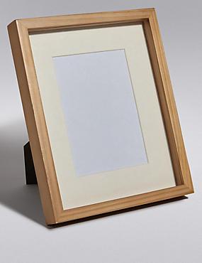 5x7 Solid Wood Photo Frame, NATURAL, catlanding