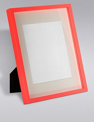 Essential Photo Frame 20 x 25cm (8 x 10inch), CORAL, catlanding