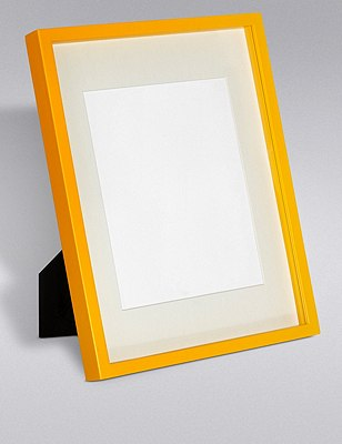 Essential Photo Frame 20 x 25cm (8 x 10inch), YELLOW, catlanding