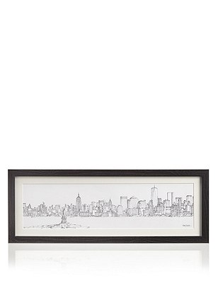 Catherine Stephenson - New York Skyline Wall Art, , catlanding