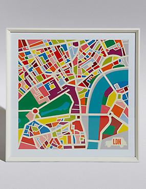 Carte de Londres, , catlanding
