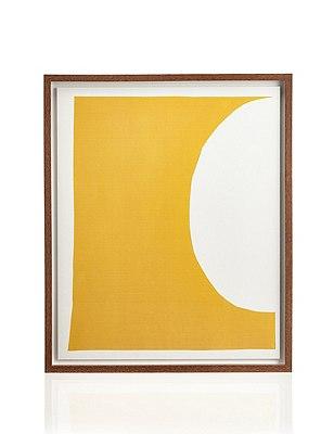 Conran Yellow Moon Wall Art, , catlanding