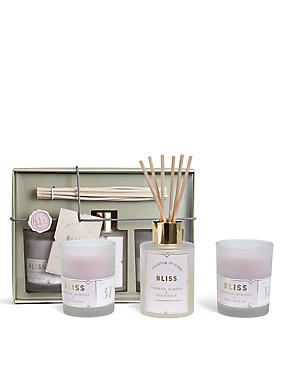 Bliss Diffuser + Candle Gift Set, , catlanding