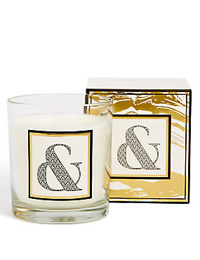 Alphabet Scented Candle Ampersand, , catlanding