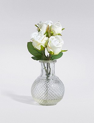 Cut Glass Rose, , catlanding