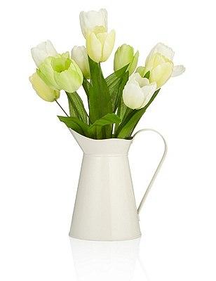Artificial Tulip Jug, , catlanding