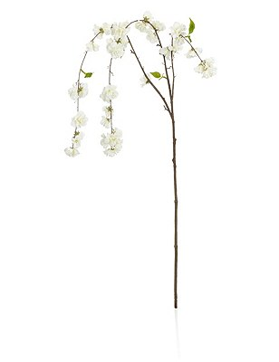 Artificial Draped Cheerry Blossom Stem, , catlanding
