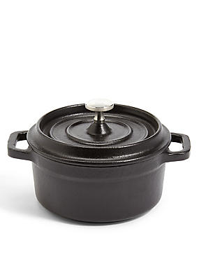 Chef Mini Cast Iron Casserole Dish, , catlanding