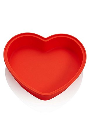 Silicone Heart Cake Mould, , catlanding