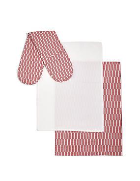 Tea Towel & Oven Glove Bale, , catlanding