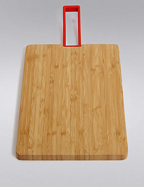 Medium Bamboo Board Handle Chopping Board