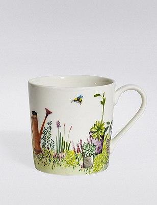 Spring Garden Mug, , catlanding