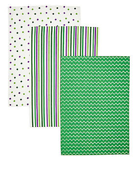 Macmillan 3 Pack Tea Towel Set, , catlanding