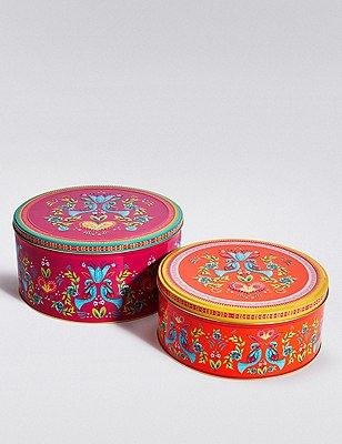 Peru Set of 2 Cake Tins, , catlanding