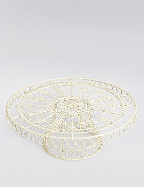 Wire Footed Cake Stand, , catlanding