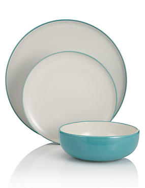 12 Piece Tribeca Box Dinner Set