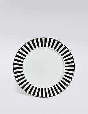 Sue Timney Striped Side Plate, , catlanding