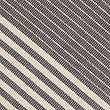 Ribbed Striped Table Runner, CHARCOAL MIX, swatch