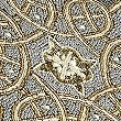 Beaded Placemat, PALE GOLD, swatch
