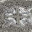 Beaded Placemat, PEWTER, swatch