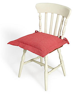 Plain Seat Pad, RED, catlanding