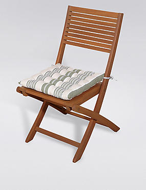 Modern Stripe & Quilted Seat Pad