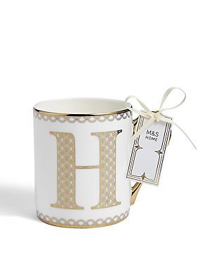 Gold Mug H, , catlanding