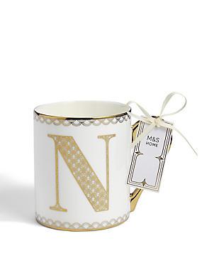 Gold Mug N, , catlanding