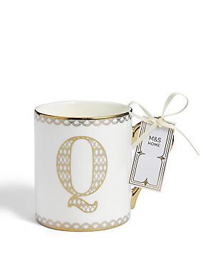 Gold Mug Q, , catlanding