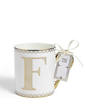 Gold Mug F, , catlanding