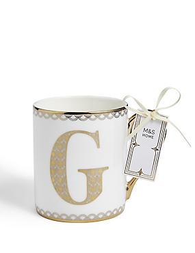 Gold Mug G, , catlanding