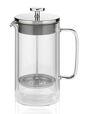 Double Walled 8 Cup Cafetière, , catlanding