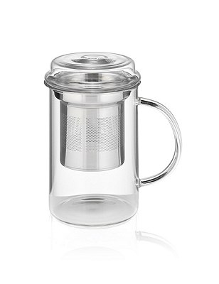Glass Infuser Mug, , catlanding