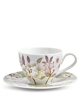 Ophelia Cup And Saucer, , catlanding