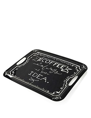 Coffee Words Tray, , catlanding