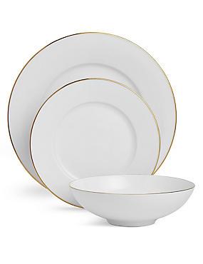 12 Piece Maxim Gold Dinner Set, , catlanding