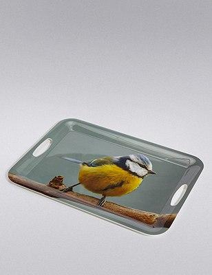 Digital Bird Print Tray, , catlanding