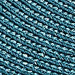2 Woven Cord Placemats, TEAL, swatch