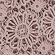 Daisy Lace Table Runner, SOFT PINK, swatch