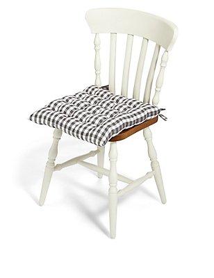 Gingham Seat Pad, , catlanding