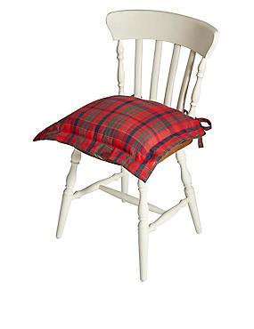 Tartan Seat Pad, , catlanding