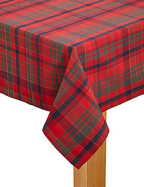 Tartan Tablecloth, , catlanding