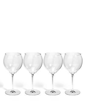 Sommelier 4 Pack Large White Wine Glass, , catlanding