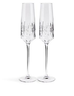 Nouveau 2 Pack Flute Glasses, , catlanding