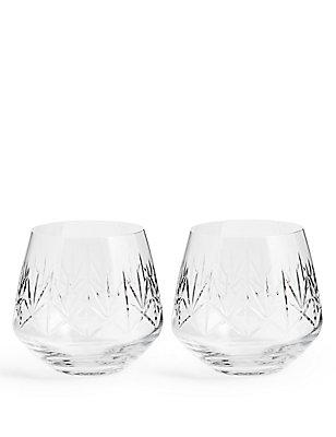Nouveau 2 Pack Tumbler Glasses, , catlanding