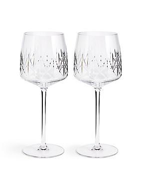 Nouveau 2 Pack Wine Glasses, , catlanding